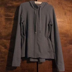 Lululemon gray zip up